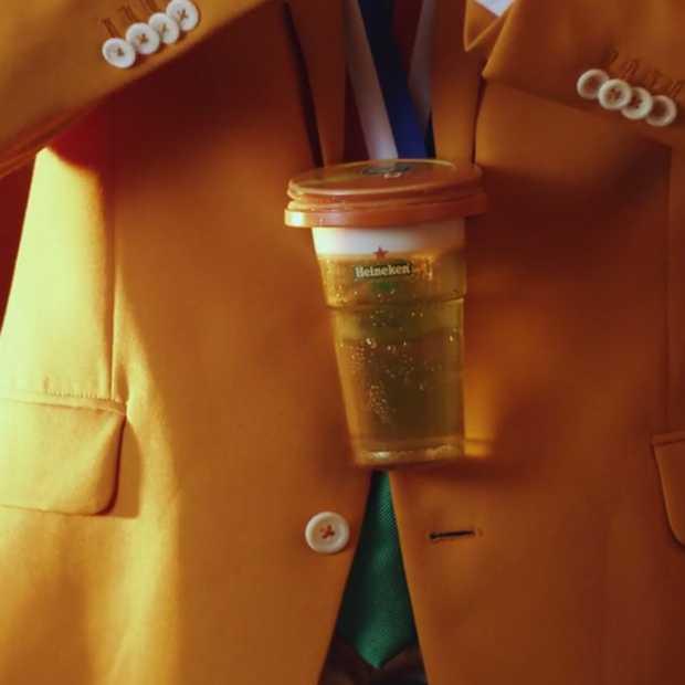 Geniaal: Heineken komt met de klap mee-daille