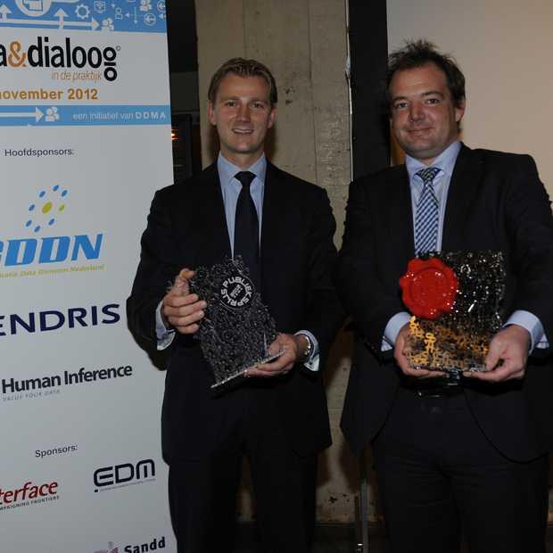 KLM wint Customer Data Award & Publieksprijs 2012