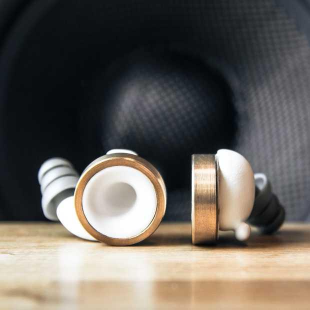 Knops zijn de 'volumebuttons voor je oren'