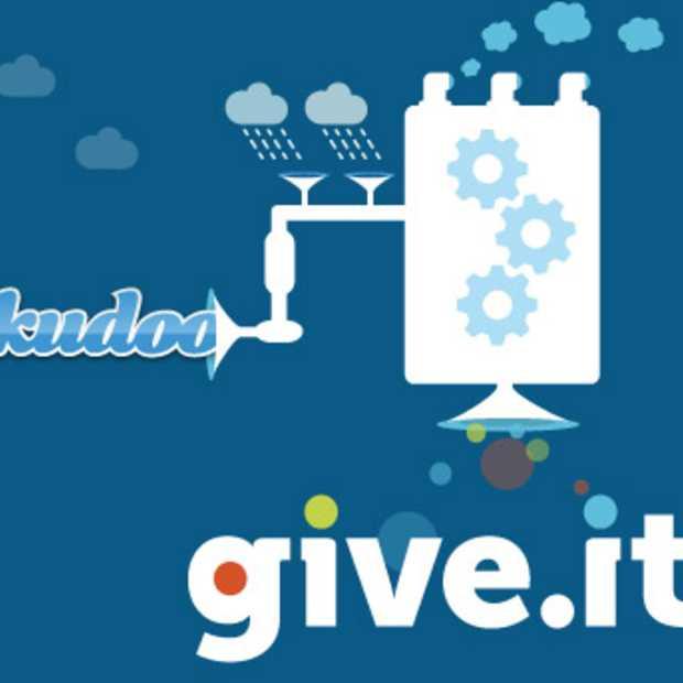 Kudoo mikt met nieuwe naam Give.it op internationale markt