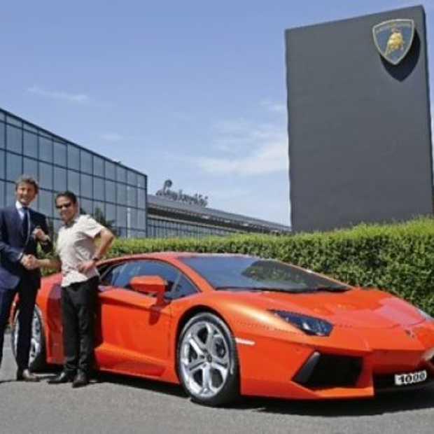 Lamborghini vervaardigt 1000ste Avantador LP700-4
