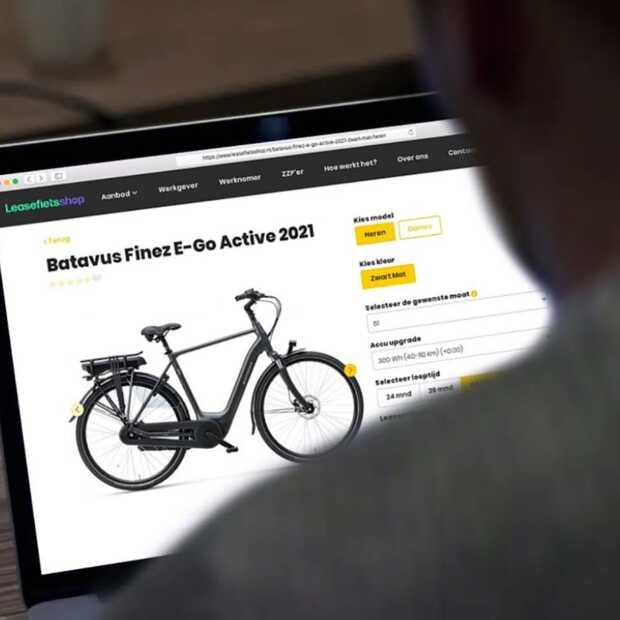 Bestel een e-bike van de zaak nu direct online