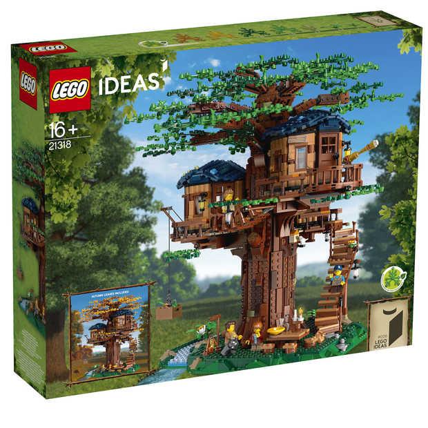 De nieuwe LEGO Boomhut is deels gemaakt van duurzame blokjes