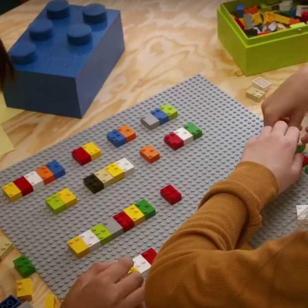 Braille Bricks van LEGO helpen slechtziende kinderen leren lezen