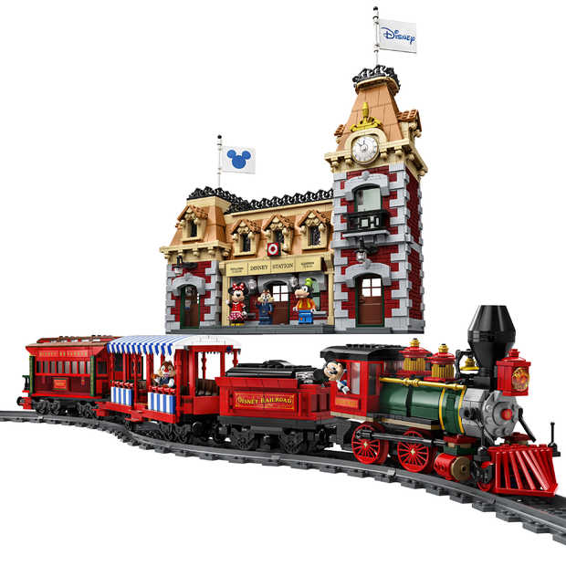 LEGO komt met Disney-trein en station