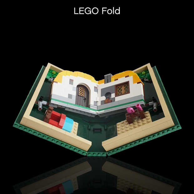 In navolging van Samsung en Huawei nu ook de LEGO Fold
