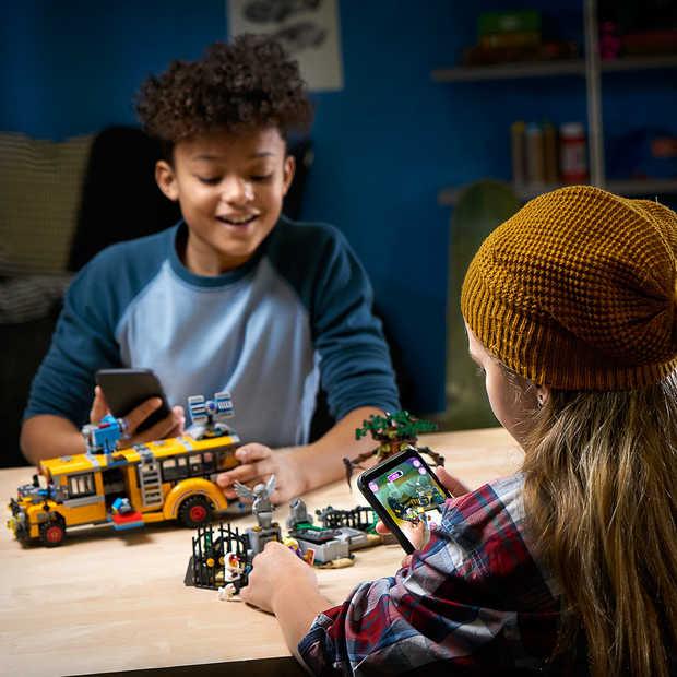 Nieuw augmented reality-spel van LEGO: Hidden Side
