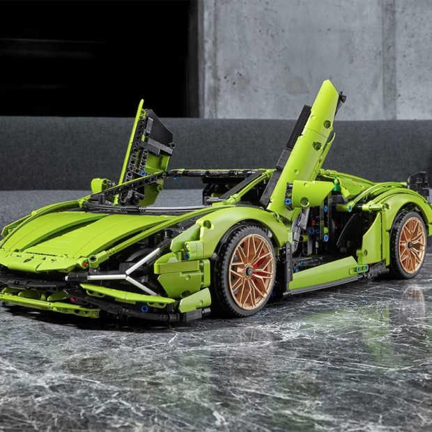 Lego komt met spectaculaire Lamborghini Sián FKP 37