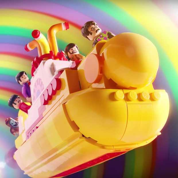 LEGO lanceert Yellow Submarine Beatles-set