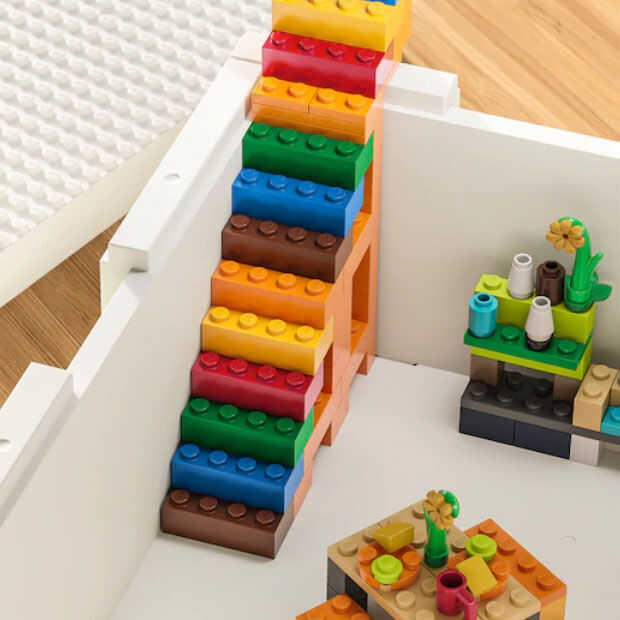 IKEA komt met LEGO-opbergdoosjes van LEGO