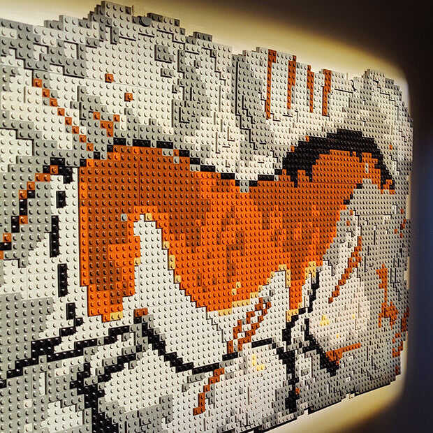 The Art of the Brick: LEGO-expositie in beeld