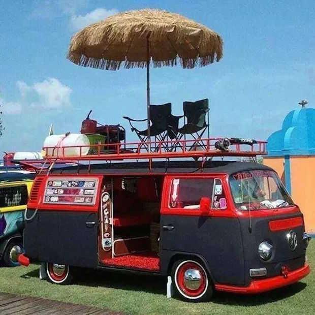 10x te gekke originele Volkswagen busjes