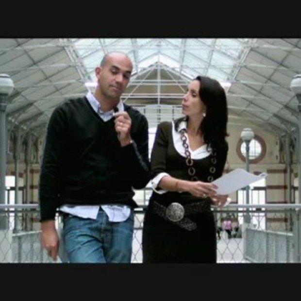 Loic en Geraldine Lemeur kondigen LeWeb '08 aan