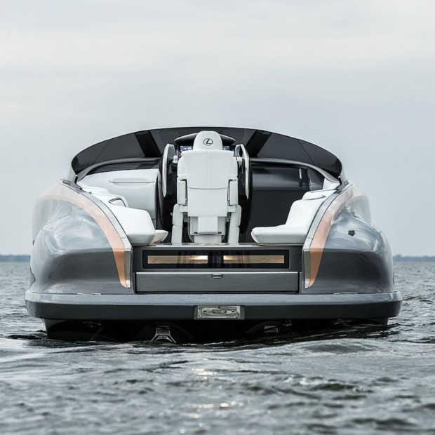 Lexus Sport Yacht Concept, ultieme luxe op het water
