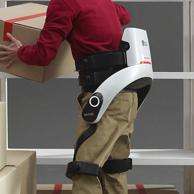 LG zet vol in op slimme service-robots