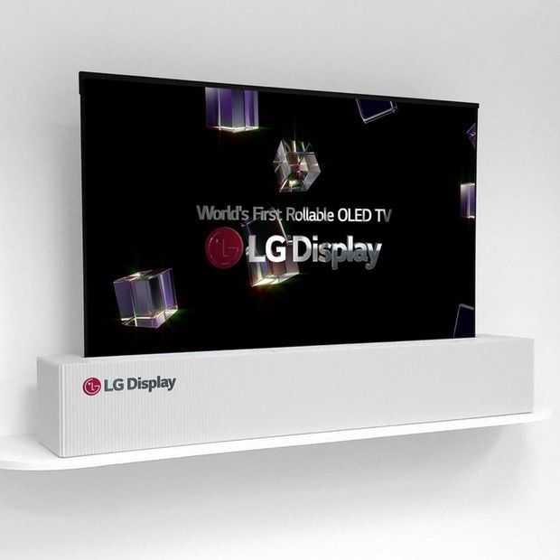 CES 2018: LG's waanzinnige oprolbare OLED moet je gezien hebben