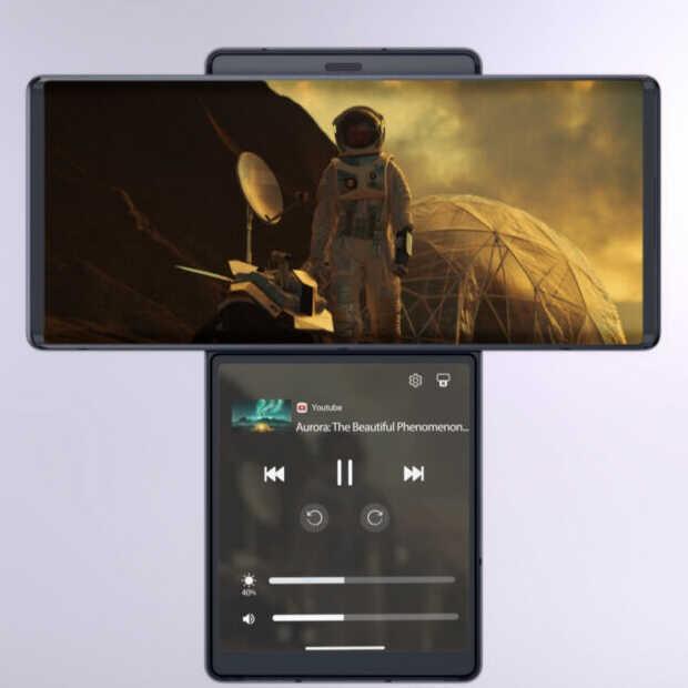 LG Wing: unieke smartphone met een draaibaar scherm