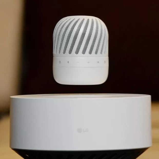 Zinloos maar cool: LG komt volgend jaar met zwevende speaker