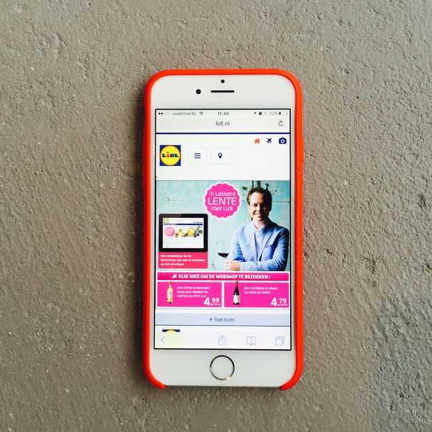 Lidl lanceert webshop in Nederland