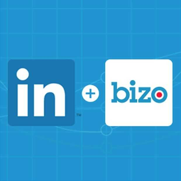 LinkedIn neemt Bizo over