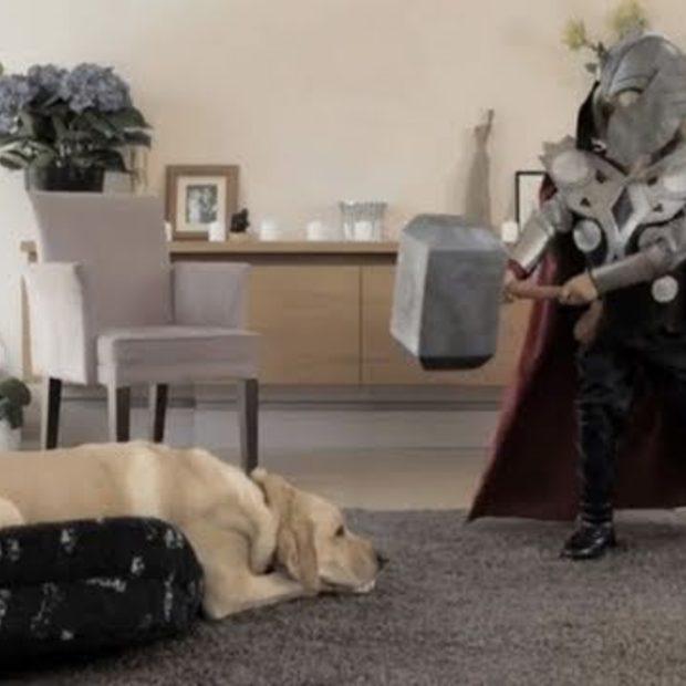 Little Thor in VW parodie