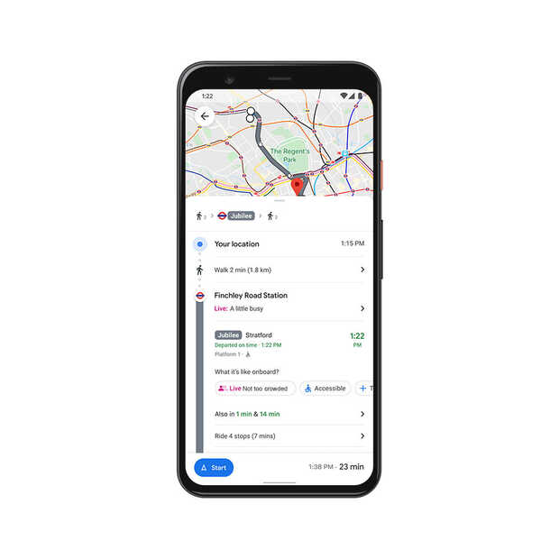 Google Maps: nieuwe functies en cijfers bekend