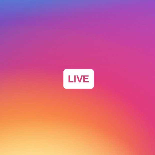 Instagram lanceert nu livestreamen