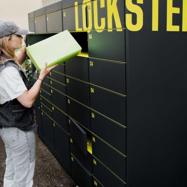 Eerste pakketkluizen van Lockster geplaatst