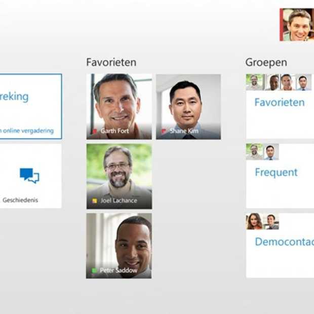 Lync-en nu ook met een Windows 8 app