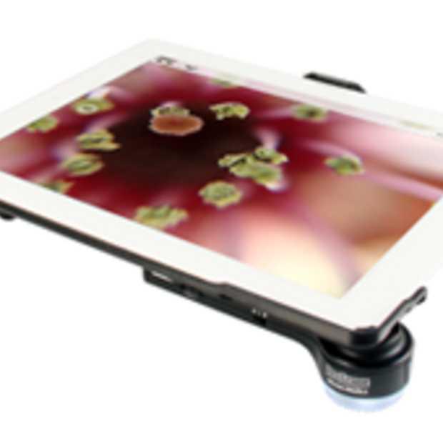 Maak een microscoop van je iPad