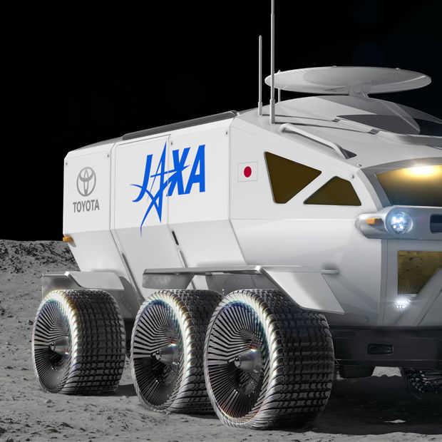Toyota wil de ruimte in met een maanauto