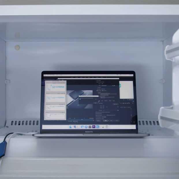 Nieuwe i9 Macbook Pro werkt alleen op vol vermogen in de vriezer