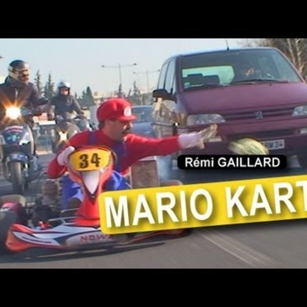Real-life Mario Kart 2