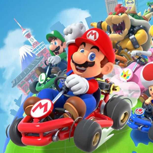 Mario Kart Tour is op charmante wijze uit op je geld