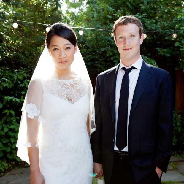 Mark Zuckerberg trouwt dag na beursgang