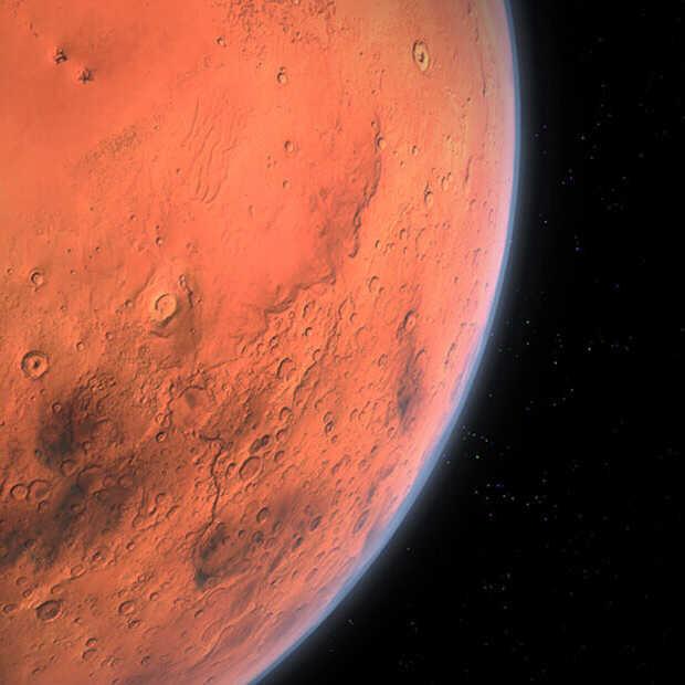 Het eerste Marsmonster is in de pocket