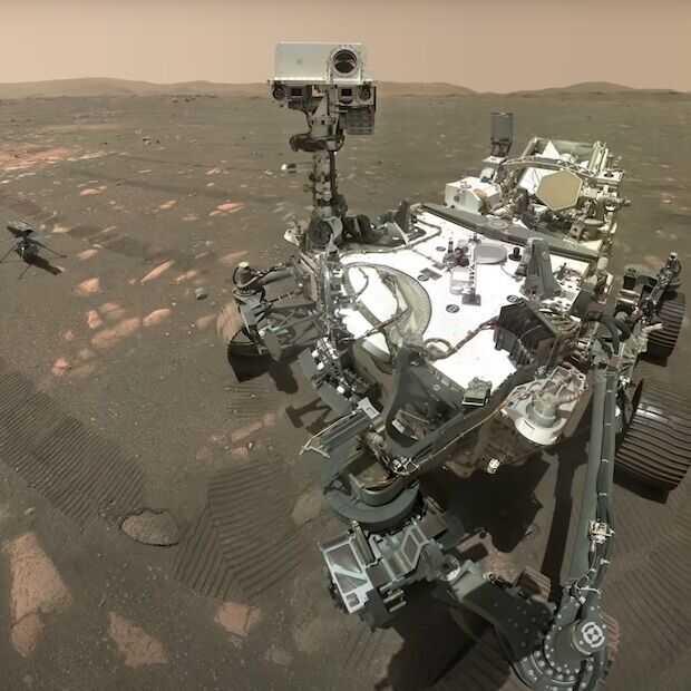 Perseverance laat ons luisteren naar de geluiden van Mars