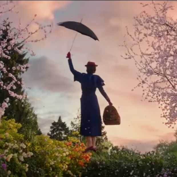 Even checken: de nieuwe Mary Poppins Returns trailer