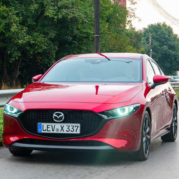 Mazda 3 met een SkyActiv-X benzine motor