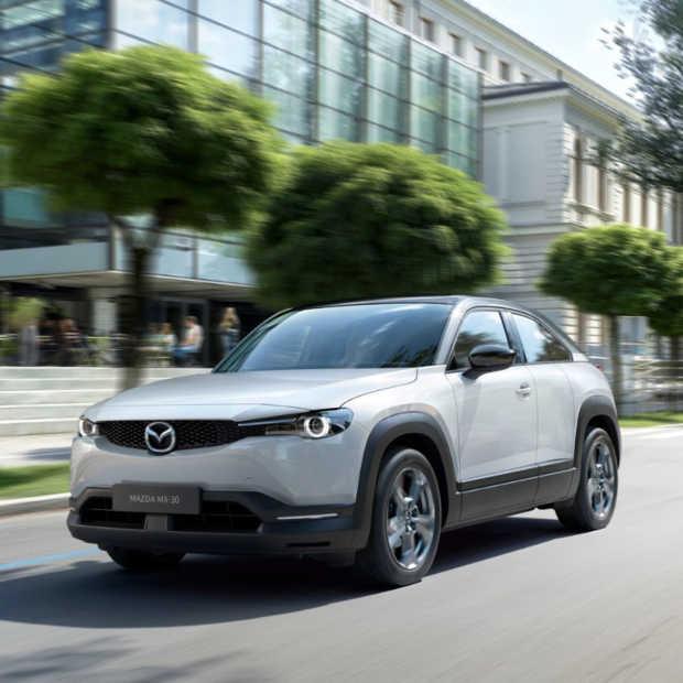 Mazda presenteert hun eerste elektrische auto de Mazda MX-30