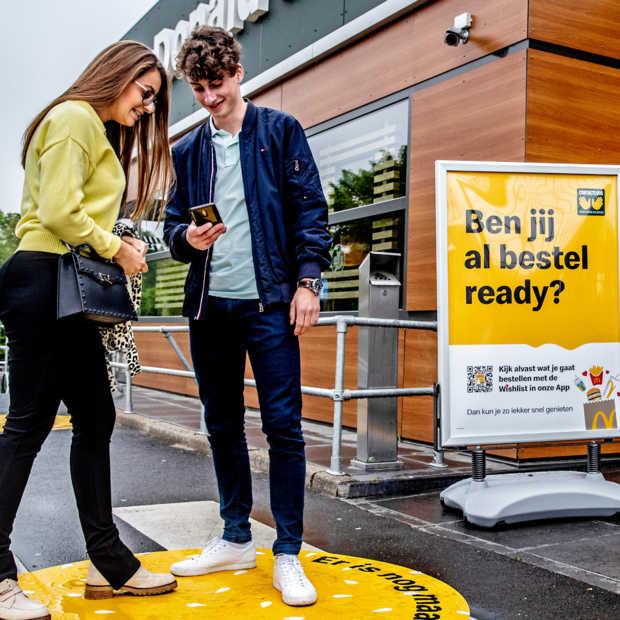 McDonald's richt proeflocatie in voor restaurant in anderhalvemetermaatschappij