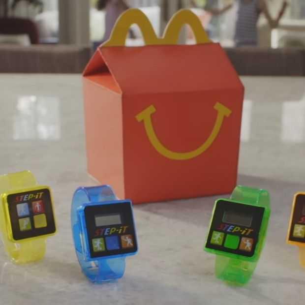 McDonald's stopt fitness bandje voor kids in Happy Meal