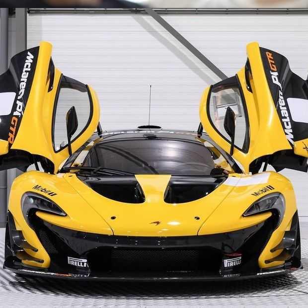 Deze McLaren P1 GTR staat te koop in Nederland