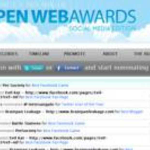 Meer dan 60.000 OWA genomineerden