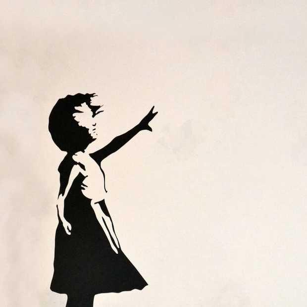 Megastunt van Banksy, kunstwerk vernietigt zichzelf na miljoenenbod