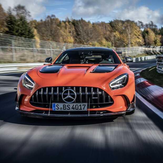 Mercedes AMG GT Black series pakt snelste tijd ooit op Nürburgring Nordschleife