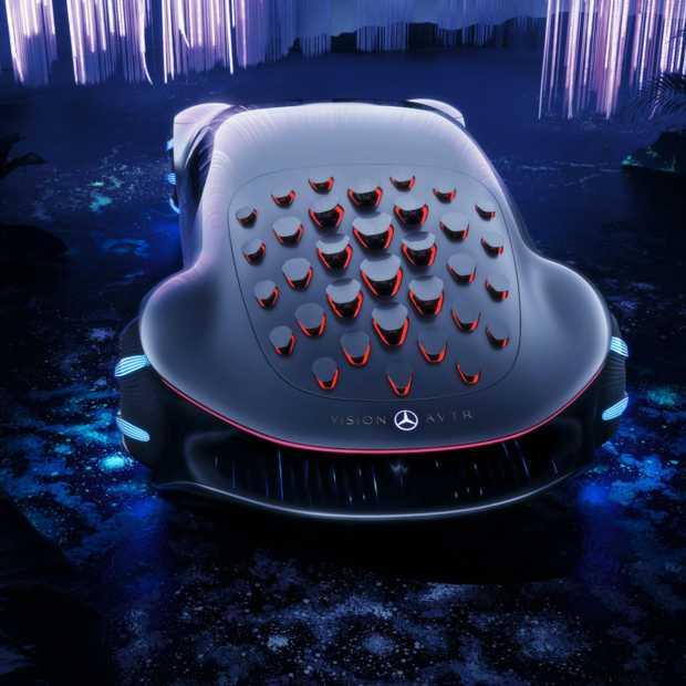 Mercedes-Benz VISION AVTR een op Avatar geïnspireerde concept car