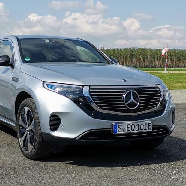 Mercedes-Benz EQC het begin van een nieuw tijdperk