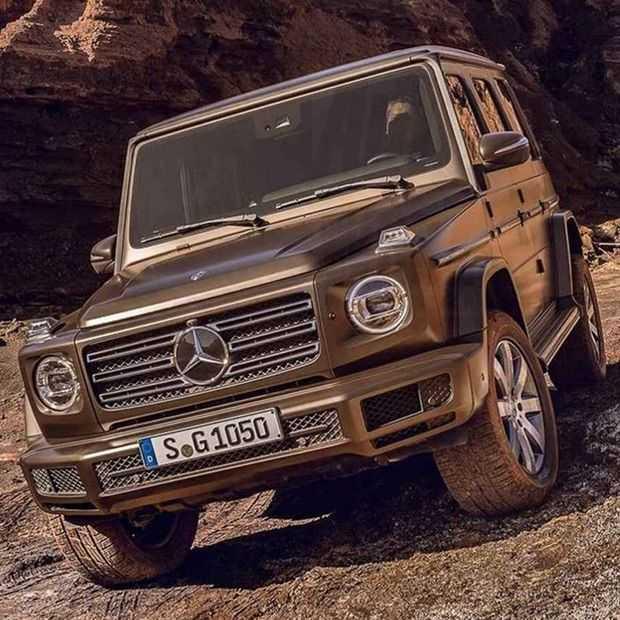 Foto's: zo ziet de 2018 update van de iconische Mercedes G er uit