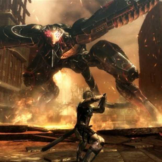 Metal Gear Rising Revengeance ziet er uit als een hemelse kruising